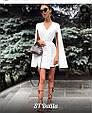 Платье мини с рукавами-крыльями , фото 6