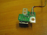 Плата 6050A2175201 с USB разъемом портом гнездом Toshiba Satellite Pro L300 L300-165 PSLB1E-022HRU бу