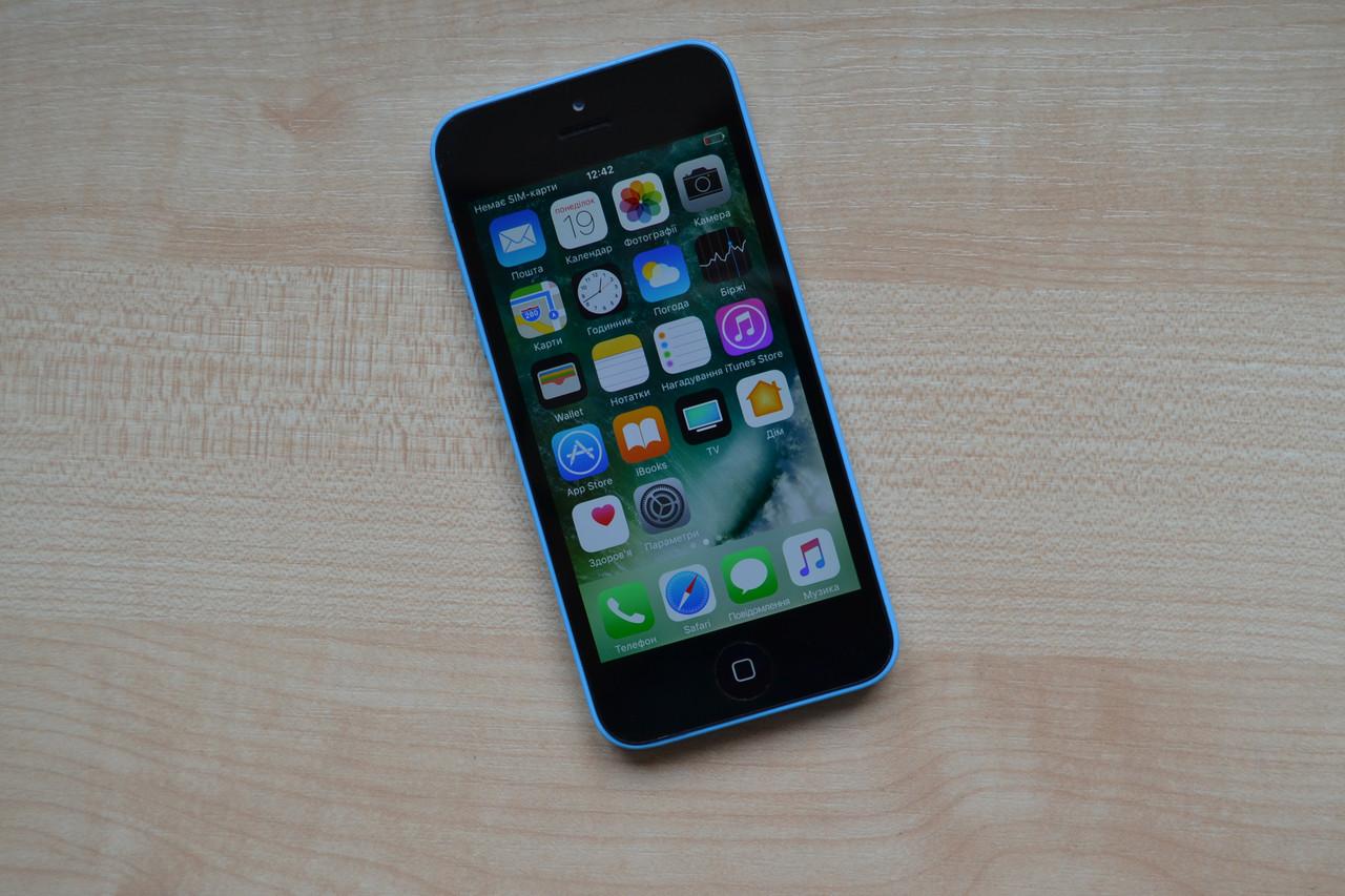 Apple Iphone 5c 8Gb Blue Neverlock Оригинал!