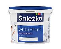 Краска акриловая матовая Sniezka White Effect 14кг.