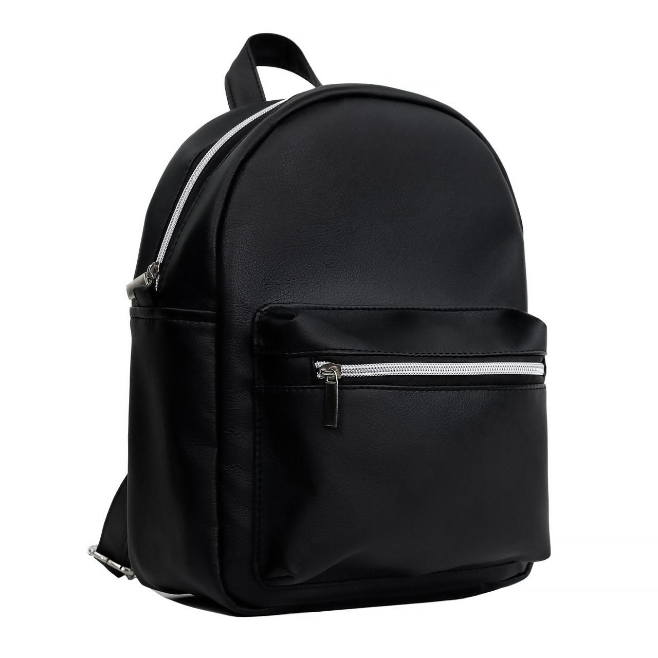 Женский рюкзак городской Брикс Sambag черный разные размеры 11414001