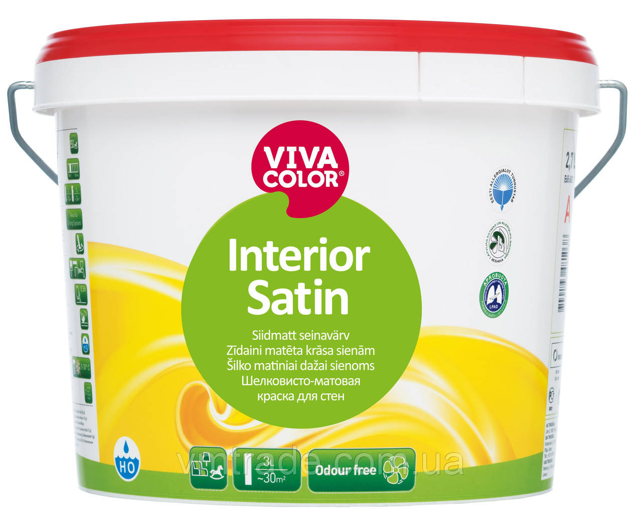 Vivacolor Interior Satin, 0.9л