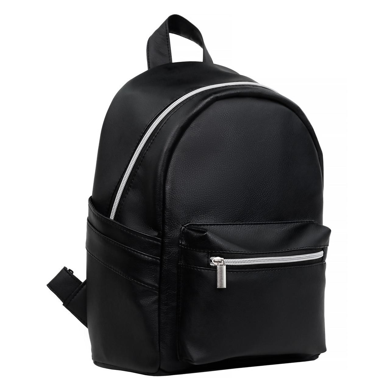 306863f666c Стильный женский рюкзак черный Sambag Dali для учебы