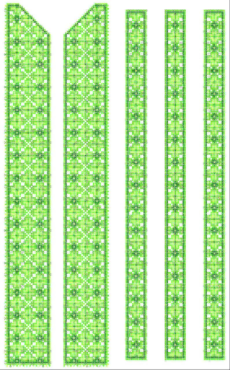 ФВЛ-024. Схема для вишивки бісером на водорозчинному флізеліні