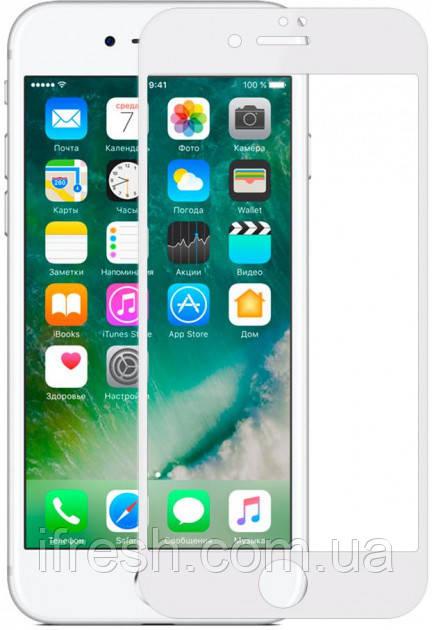 Защитное стекло Baseus Silk-screen Pet Soft 0.23mm iPhone 6/6s, White (SGAPIPH6S-BPE02)