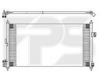 Радиатор кондиционераNissan X-Trail T30 (AVA) FP 50 K350