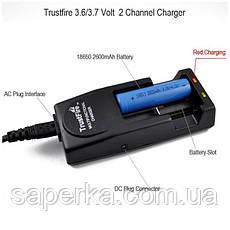 Купить Зарядное устройство 2x18650, 16340 TrustFire , фото 2