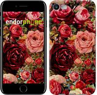 """Чехол на iPhone 7 Цветущие розы """"2701c-336-12392"""""""