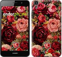 """Чехол на Huawei Y6 Цветущие розы """"2701c-333-12392"""""""