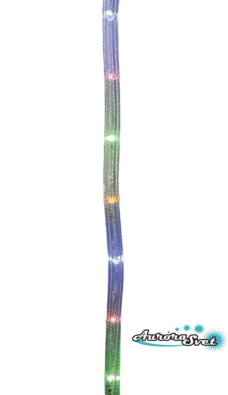 LED гирлянда разноцветная 8 метров 160 LED. Светодиодная гирлянда. Гирлянда LED. Производство Франция.