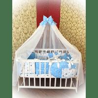 Детская постель в кроватку для новорожденных Elite