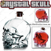 "Стеклянный графин - ""Crystal Skull"" - 750 мл., фото 1"