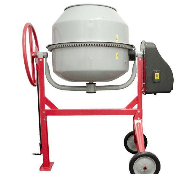 Бетоносмеситель 375Вт, 120л, 30об/мин Intertool DT-9120