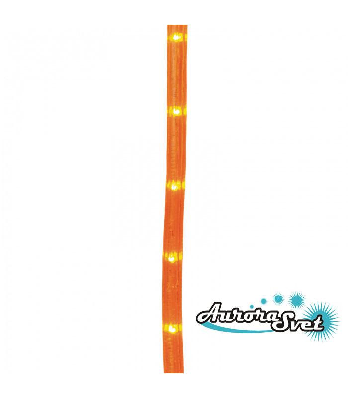 LED гирлянда оранжевая 8 метров 160 LED. Светодиодная гирлянда. Гирлянда LED. Производство Франция.