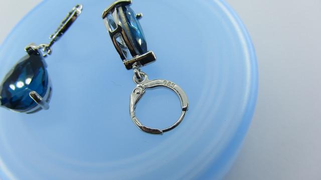 Серебряные серьги, серьги из серебра 925 пробы, серьги из стерлингового серебра