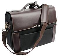 Портфель-саквояж кожаный большой Sheff S5201
