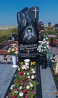 Памятник на могилу с Иисусом Христом