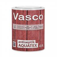 Пропитка-антисептик для дерева Vasco Antiseptik Aquatex, 0,9 л, фото 1