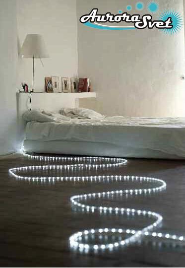 LED гирлянда белая 20 метров 400 LED. Светодиодная гирлянда. Гирлянда LED. Производство Франция.