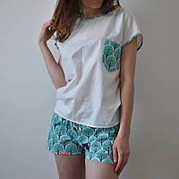 Пижама женская (Лес) 100% хлопок, фото 1