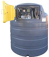 МИНИ АЗС 220В 56л/мин на базе резервуара SWIMER EKO-LINE 1500л для дизельного топлива