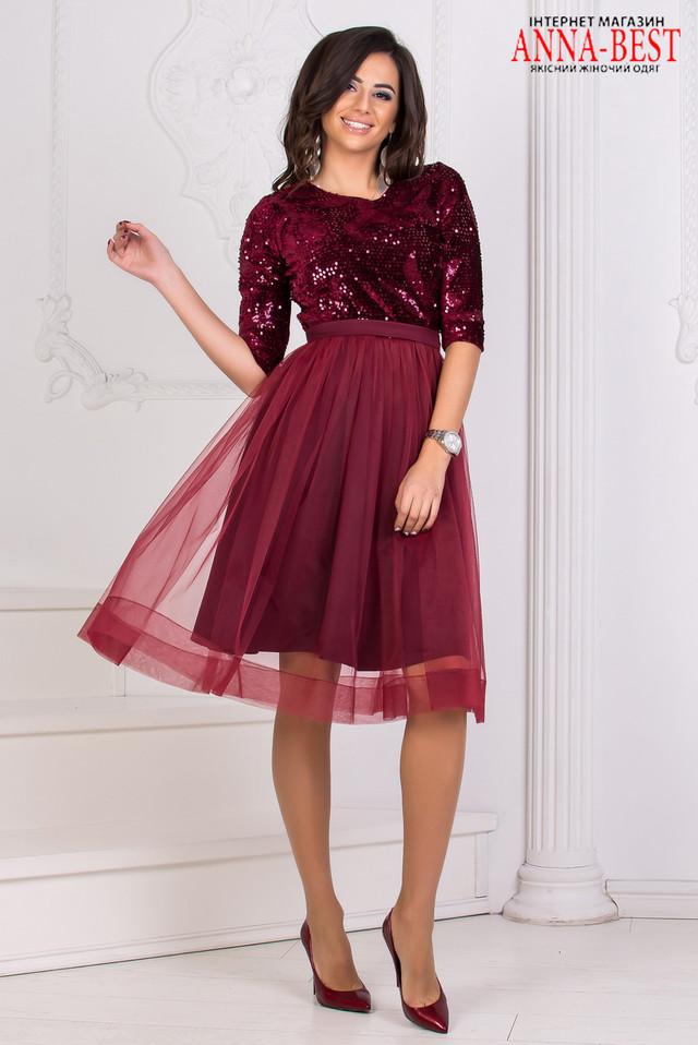 c1c6524b57c Вечернее нарядное бордовое платье размер S