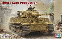 Sd.Kfz. 181 Pz.kpfw.VI Ausf. E Tiger I Late Production 1/35 Rye Field Model 5015