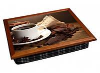 Поднос с подушкой Кофе с шоколадом 380-9716371