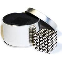 Neocube (неокуб) 216 шариков по 5 мм в коробочке / оригинальный подарок магнитный куб