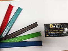 Алюминиевый профиль LLP-3 color врезной глубокий