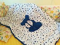Одеяло плюшевое детское.