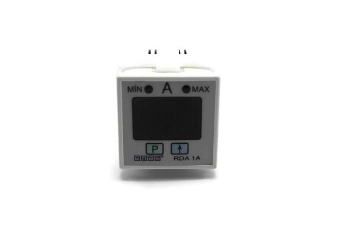 Амперметр програмируемый цифровой щитовой 1-999А 230В (1 перекл. контакт)  RDA1A EMAS