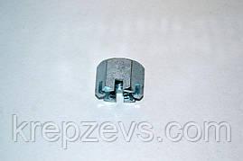 Гайка М6 DIN 935 оцинкована