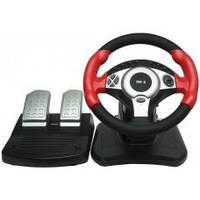 Руль игровой GW-200 DIALOG STREET RACER I (2 педали, USB)