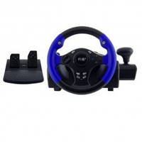 Руль игровой 9812 VIBRATE STEERING WHEEL PS3/ PS2/PC 3 в 1
