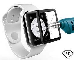 Защитное стекло Apple Watch 40mm Full Glue 5D (Mocolo 0,33мм)