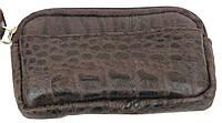 Кожаная ключница ALWAYS WILD 201616-4 темно-коричневая