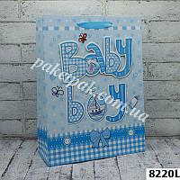 Пакет бумажный подарочный микс (уп-12 шт)