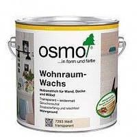WOHNRAUMWACHS - Воск белый для стен, потолков, мебели, дверей, прозрачный балок, плинтусов, детских игрушек