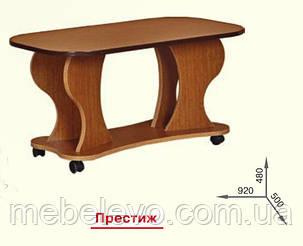 Стол журнальный Престиж  480х920х500мм   Пехотин, фото 2