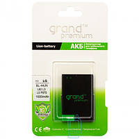 """Аккумуляторная батарея (АКБ)для LG (bl-44jn). """"Grand Premium"""""""