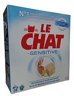 Гипоалергенный стиральный порошок Le Chat Sensative  -2.47 кг