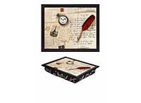 Поднос с подушкой Рукопись 380-9713028