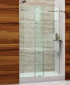 Душові двері прозорі  Slide 110см