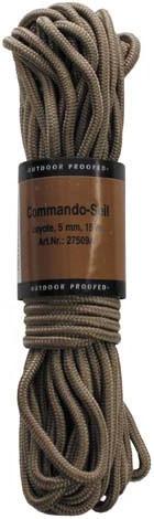 Верёвка 5мм х 15м койот MFH 27509A