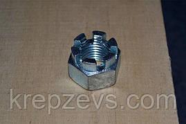 Гайка М22 DIN 935 оцинкована