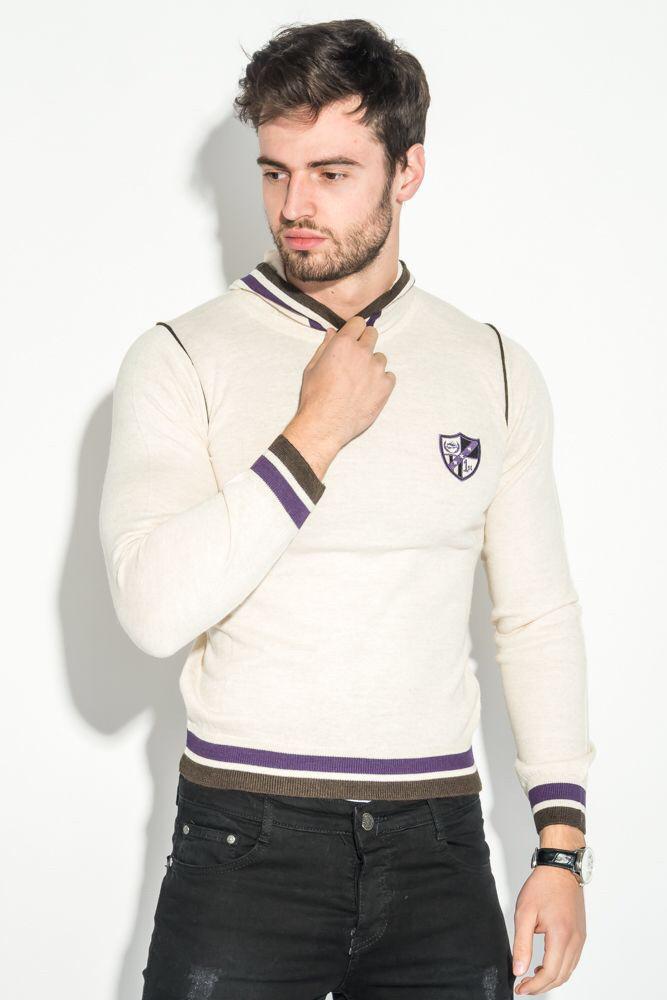 Приталенный свитер с капюшоном WOOLLENART