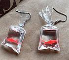 Оригінальні сережки з рибками, фото 2