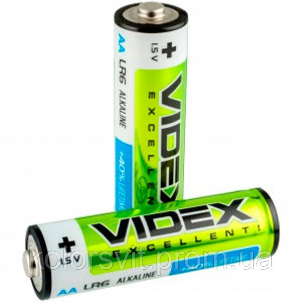 Батарейка LR06 Videx Алкалайн (пальчик) по 2 шт