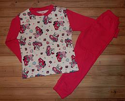 Детские пижамы для девочек Смайл 5-8 лет